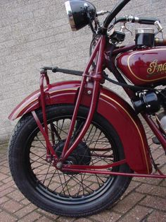 Classic 1928 Indian Motorcycle