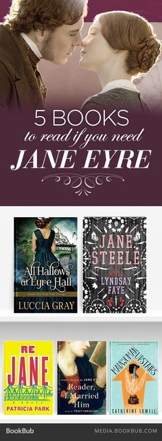 5 books to read if you love Charlotte Brontë's Jane Eyre.