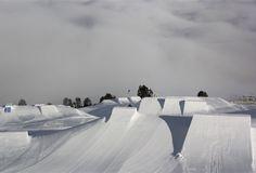 Snowpark im Skiparadies Reschenpass