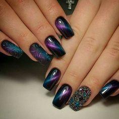 dark galaxy nails
