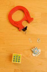 Kindergarten The 5 Senses Activities: Investigate Magnetic Attraction