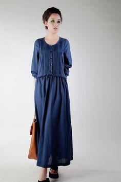 Glamorous linen dresses