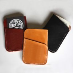 Metro Leather Business Card Holder TM, Card Holder, Credit Card Holder, Credit Card Wallet, ID Holder