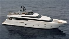 Sanlorenzo's latest model - SL94. All aboard, friends.
