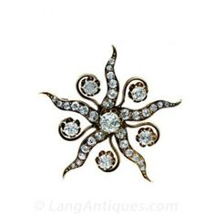 Victorian Star Pin - Victorian Jewelry - Shop for Jewelry