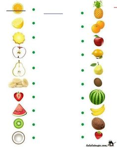 nl , search on each side the same fruit , free printable. Preschool Writing, Preschool Education, Preschool Learning Activities, Toddler Activities, Preschool Activities, Teaching Kids, Autism Education, Kids Math Worksheets, Educational Games