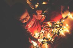 All images copyright Studio A Photography // www.studioaphotos.com # infant Christmas lights photo