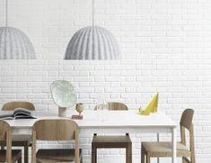 Scandinavian Pendant Lighting, Modern Pendant Light, Muuto Lighting, Home Lighting, Chandelier Lighting, Lighting Ideas, Mini Pendant Lights, Pendant Lamp, Danish Furniture