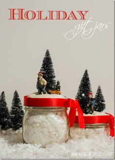 DIY Mason Jar Holiday Gift Idea