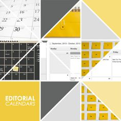 Blogging // Editorial Calendars and Planning | Lovely Indeed