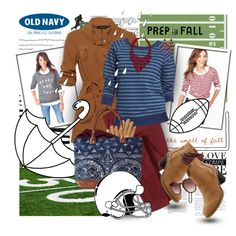 """""""Prep for Fall With Old Navy Sweaters"""" by designsbytraci on Polyvore"""