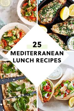 25 Easy Mediterranean Diet Recipes to Whip Up for Lunch 25 einfache mediterrane. - 25 Easy Mediterranean Diet Recipes to Whip Up for Lunch 25 einfache mediterrane Diätrezepte zum A - Easy Mediterranean Diet Recipes, Mediterranean Dishes, Mediterranean Diet Breakfast, Med Diet, Clean Eating, Healthy Eating, Slow Food, Cooking Food, Cooking Steak