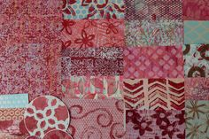Handmade Papers using a Gelli Plate for use in Collages, Art Journals, Mixed Media Art, Scrapbooks, Smash Books, Cards, Crafts & more! #113 by KrisCollageMadness on Etsy