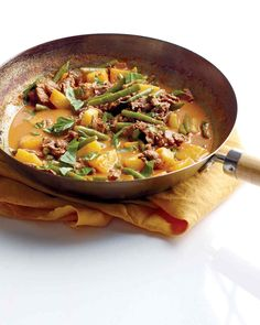 red curry beef pineapple.  Kristina 3.16