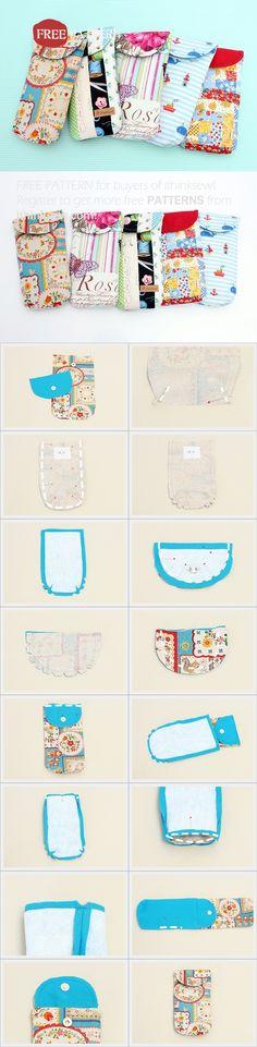 Free Pattern for Buyers - Kim Clutch PDF Pattern