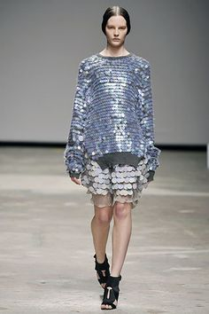 Christopher Kane Fall 2008 Ready-to-Wear Fashion Show - Sara Blomqvist