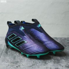 uk availability 18cb3 d5768 2018 FIFA World Cup Russia Adidas ACE 17+ Purecontrol FG Dragon High Top  Soccer Cleats Purple Black Green