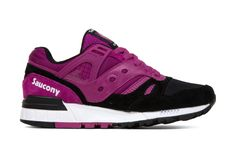 Saucony Grid SD 'Toe the Line' - Berry/Black
