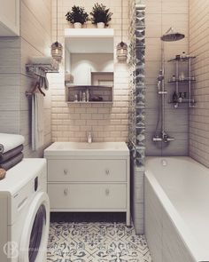 10 Ways to Squeeze a Little Extra Storage Out of a Small Bathroom bathroom storage freestanding Bathroom Toilets, Laundry In Bathroom, Small Bathroom, Bathroom Storage, Bathroom Interior, Home Interior, Interior Decorating, Toilet Design, Apartment Design