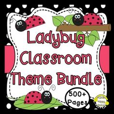 Classroom Decor, classroom decor package, classroom decor series, classroom decor posters, classroom themeClassroom Decor Theme Bundle ~ Ladybug Theme DecorSave time by getting everything all in one place and save over 50% by purchasing this Classroom Decor Theme Bundle!Organization is the key to beginning a new school year!
