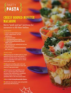 Halloween Party Pasta Recipe and a  FREE Halloween Party Plan! #EviteGatherings