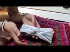 DIY No Sew Turban Headband - YouTube