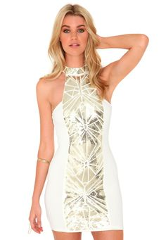 Revetta daisy dress plus
