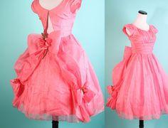 1950s Cocktail Dress / Madmen Dress / Mad Men Dress / by aiseirigh, $188.00