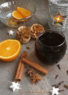 Jus de raisin chaud épicé comme un vin chaud ~ Boisson de Noël ~ A la table de Maman Dine