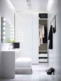 Prefab Homes, Walk In Closet, Dressing Room, Closet Storage, Wardrobe Rack, Bedroom, Interior, Ideas, Closets