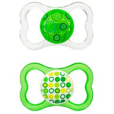 Just bought the MAM Air pacifier for Caleb.  He has used the regular style before, but these are cute allow you to see him smile more when he is suckin away!