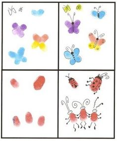 Puddle Wonderful Learning: Preschool Activities: Letter of the Week {Ii} Projects For Kids, Art Projects, Crafts For Kids, Welding Projects, Fingerprint Crafts, Thumb Prints, Hand Prints, Auction Projects, Footprint Art