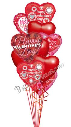 13 Best Valentine S Day Balloon Bouquets Images In 2019 Polka Dot