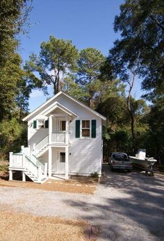 Beaufort Vacation Rental - VRBO 249362 - 1 BR Low Country & Resort Islands Cottage in SC, Guest House, Parris Island Parents, Fisherman'...A FISHERMANS COTTAGE!!!