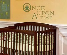 Disney Vinyl Wall Saying Once Upon a Time  Fairy by KeyReflection, $26.26