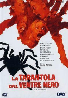 El señor de los bloguiños: La tarántula del vientre negro (1972) de Paolo Cav...