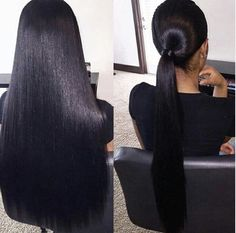 Online shopping for Brazilian Full Lace Wigs Density Human Virgin Hair Silky Straight Human Hair Wigs Brazilian Straight Hair Extensions. Find out what's hot and new from our online store. Weave Hairstyles, Straight Hairstyles, Everyday Hairstyles, Formal Hairstyles, Black Hairstyles, Short Haircuts, Pelo Natural, Natural Hair Styles, Long Hair Styles