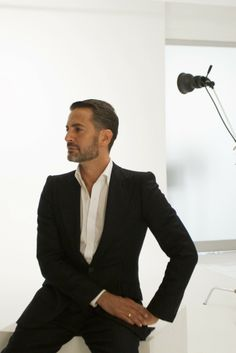 Marc Jacobs, a nominee for Womenswear Designer of the Year, is a master in front of the camera. [Photo by Tricia VanGessel]