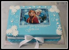 Disney Frozen Sheet Cake | Disney Frozen cake