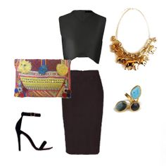Necklace, ring and bag www.myla.es