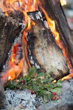 homemade herb firestarter : the house that lars built