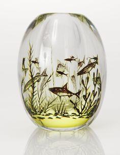 VAS, glas, graal. Edward Hald, Orrefors 1957
