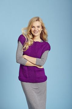 Ravelry: Squall Vest pattern by Kelly Menzies