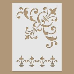 Sheet size: 145 x 200 mm (5.7 x 7.8 inches)  This stencil is made from plastic.  Suitable for use to create images on a variety of surfaces.  Material: 125 micron Polyester Mylar stencil film - flexible and easy to clean.  ---------  Frequently Asked Questions: What brush do you recommend for painting with a stencil? We recommend sponge brush for stencil painting.  I am in the US, why the shipping seems expensive? The product comes from Europe, not from the US.  Can you give me a discount?…