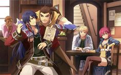 Trails Calendar 2014 Trails Of Cold Steel, The Legend Of Heroes, 7 Deadly Sins, Nihon, Anime Art, Calendar 2014, Fan Art, Animation, In This Moment
