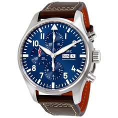 IWC Mens Pilots Chronograph Edition Le Petit Prince Analog Automatic Brown Watch *** You can obtain more details by clicking the picture. (This is an affiliate link). Iwc Watches, Cool Watches, Wrist Watches, Analog Watches, Iwc Pilot Chronograph, Best Affordable Watches, Der Gentleman, Luxury Watches For Men, Automatic Watch
