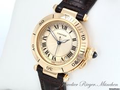 AU$6,295 Cartier PASHA MEDIUM 35 MM GELBGOLD 750 AUTOMATIK