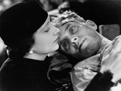 """""""Kay Francis and Phillips Holmes in Storm at Daybreak (1933) """""""