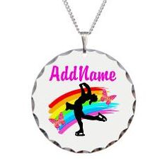 Personalized Figure Skating Jewelry, Tees, and Gifts http://www.cafepress.com/sportsstar.1031989642 #Ilovefigureskating #Iceprincess #Figureskater #IceQueen #Iceskate #Skatinggifts #Iloveskating #Borntoskate #Figureskatinggifts #Figureskatingkewelry #Skaterjewelry