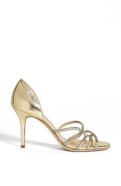 Scales and wavy straps on this gorgeous pair from Jimmy Choo
